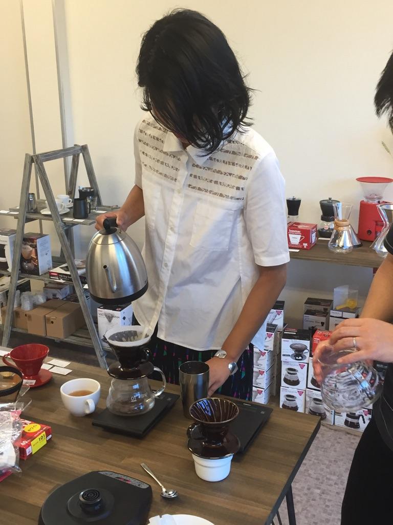 朝でも、昼でも、夜でも受けられるコーヒー教室を名古屋に